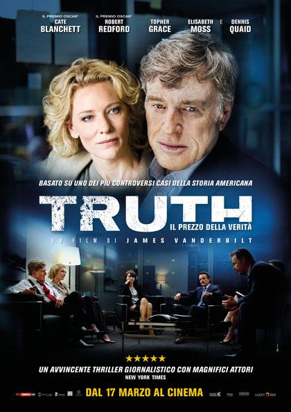 locandina truth il prezzo della verità