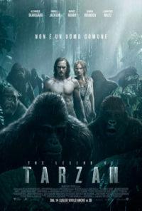locandina la legenda di Tarzan